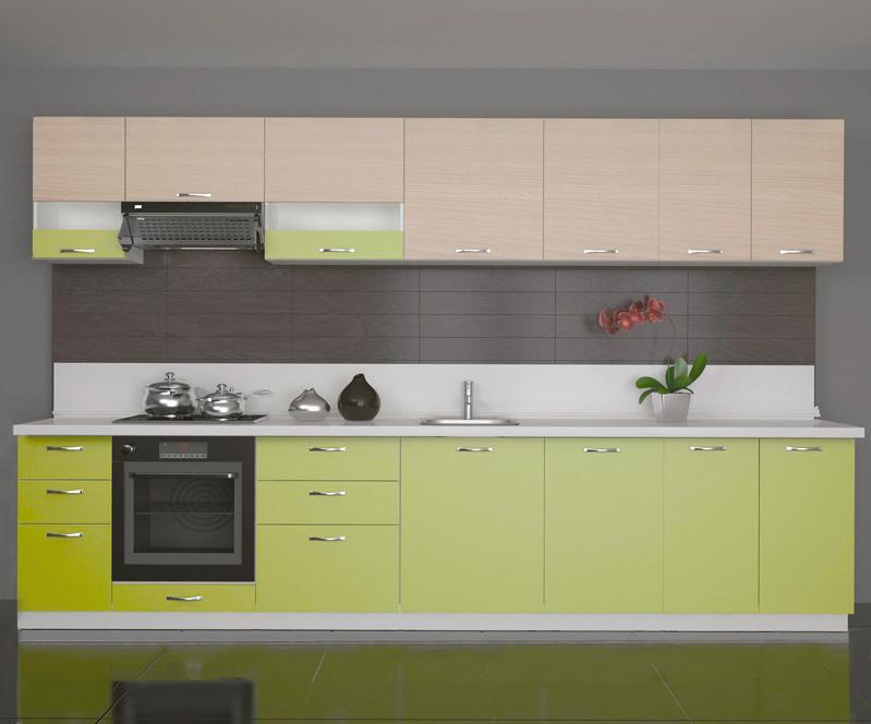 Cocinas integrales modulares verde | Exposé-Adecuación de locales ...